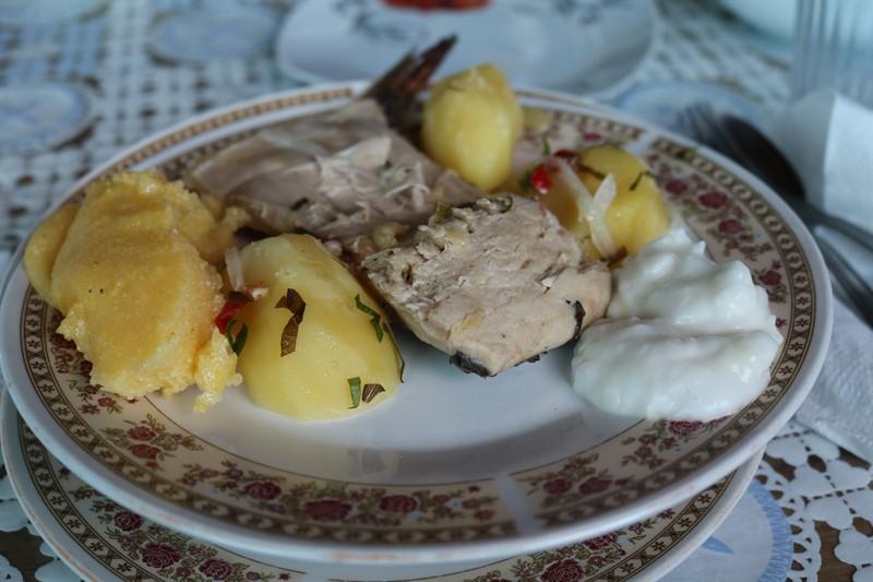 Letea. Meniu traditional de peste
